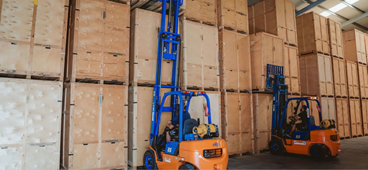 Secure Corporate and domestic storage in cyprus by peter morton removals